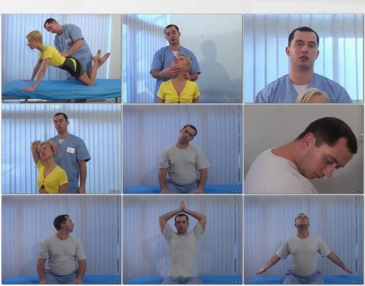 Упражнения для шеи Шишонина