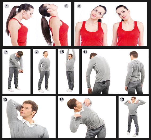 Упражнения Норбекова для шеи