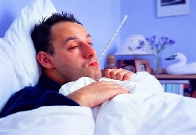 Лихорадка у мужчины