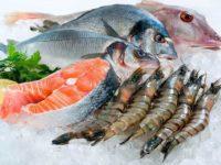 Морская рыба и морепродукты