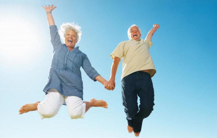 Активные люди пожилого возраста