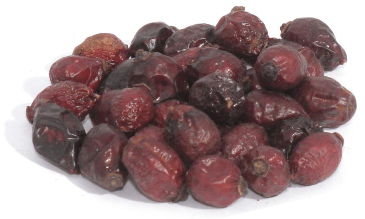 Сушёные ягоды шиповника