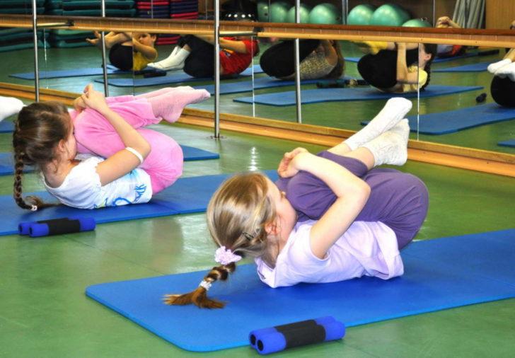 Групповая гимнастика для укрепления спины