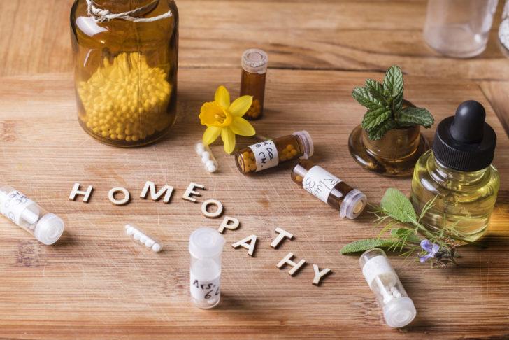 Гомеопатия: растения, гранулы