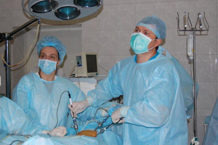 Лапароскопическая гинекологическая операция