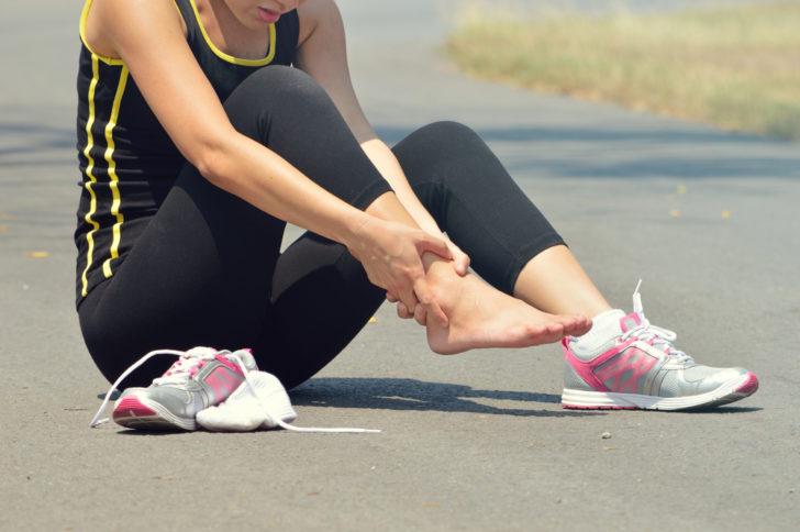 Травма голеностопа у спортсмена