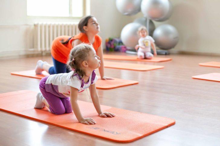 Лечебная физкультура у детей