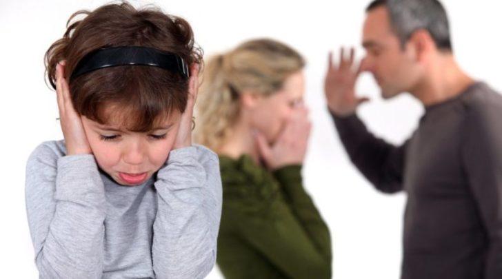 Ребёнок и ссорящиеся родители
