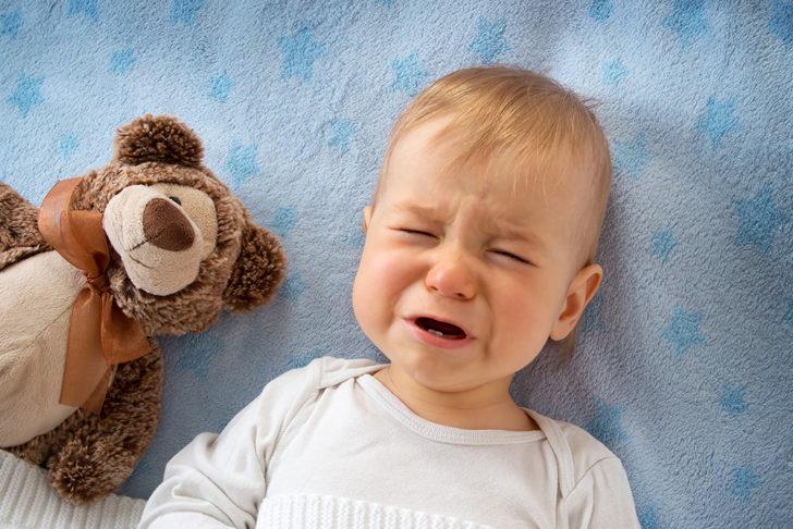 Ребёнок в слезах
