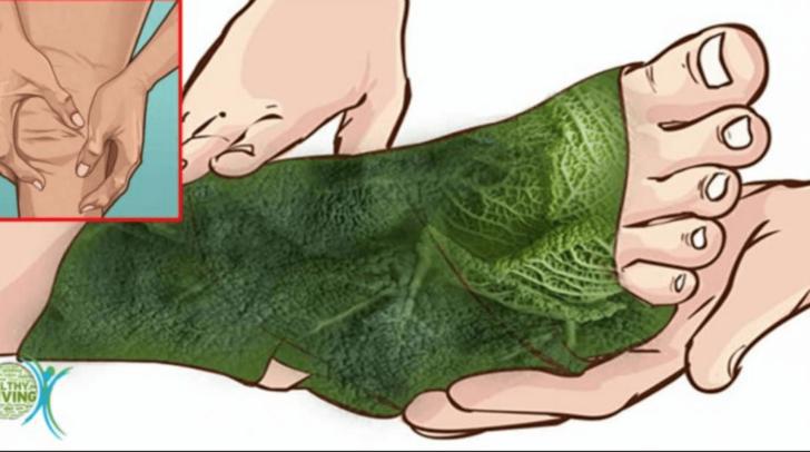 Компресс из листьев хрена