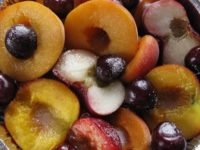 печёные фрукты