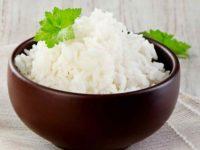 Рис отварной в горшке