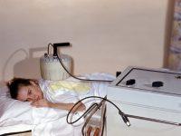 Девочка на процедуре индуктотермии
