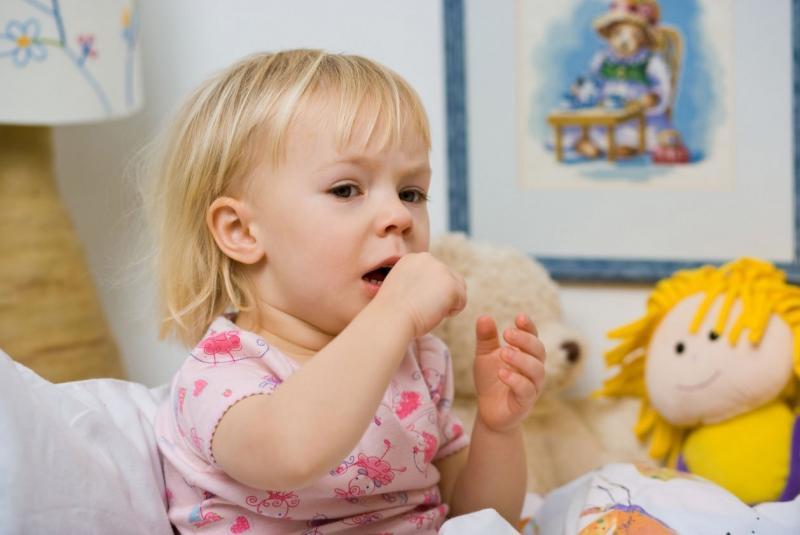 Чем снять сухой кашель у ребенка