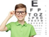 Ребёнок в очках