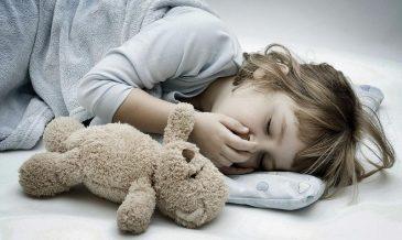 Ночной кашель у ребёнка