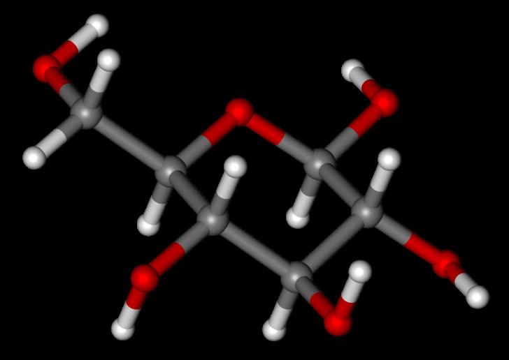 Глюкоза молекула