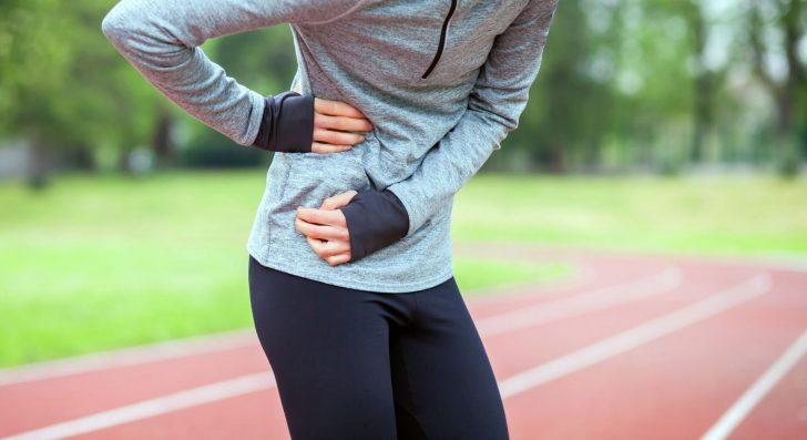 Боль в правом подреберье во время бега