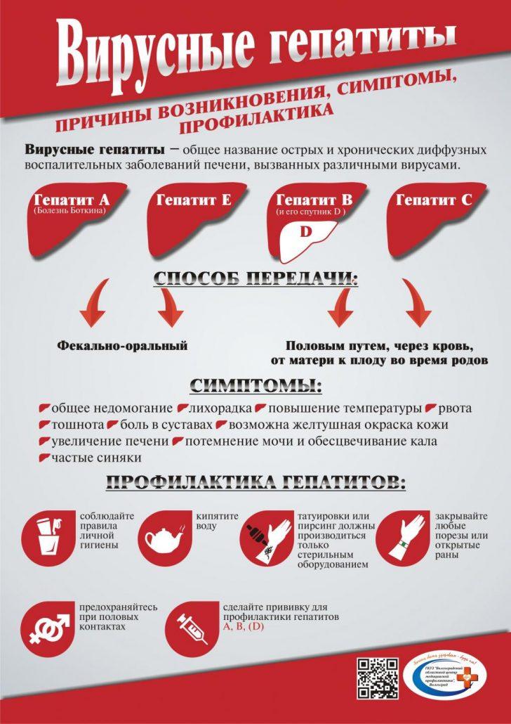 Вирусные гепатиты: пути передачи, симптомы, профилактика