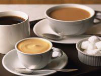 Кофе, чай и сахар
